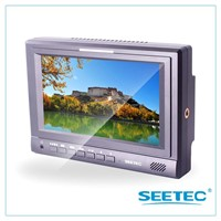 7 inch broadcasting field HDMI SDI monitor 1024*600 display lcd field monitor