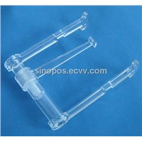 Acrylic Display Racks, Top Grade Transparent Plastic Bracket ,Art Exhibition Stand