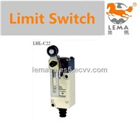 Adjustable roller arm type limit switch