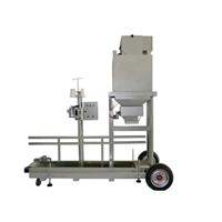 Animal feed packing machine with 10-50kg/bag