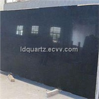 Artificial Black Quartz Slab
