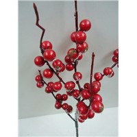 Artificial Christmas Small Red Fruits