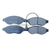 Auto brake spare parts of Non-asbestos Disc brake pad D1489-8689
