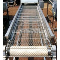 BZ stainless steel conveyor belt, spiral weave wire mesh
