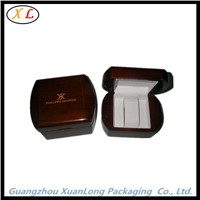 Black wooden single watch packaging box