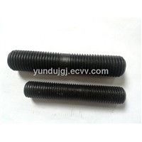 Blck Zinc Plated Half /All Threaded Rod/Screw Rod/double end stud bolt