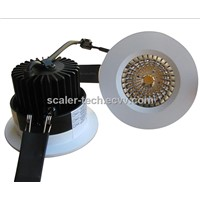660lumen Dimmable 10W  COB LED Recessed Ceiling Downlight Slim Design CE listed