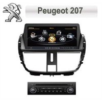 Car DVD w/BT/RDS/Ipod/GPS/V-CDC/POP(3G &DVR&DVB-T Option)- Peugeot 207