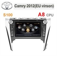Car DVD w/BT/RDS/Ipod/GPS/V-CDC/POP(3G &DVR&DVB-T Option)-Toyota Camry 2012