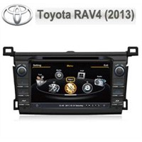 Car DVD w/BT/RDS/Ipod/GPS/V-CDC/POP(3G &DVR&DVB-T Option)-Toyota RAV4 2013