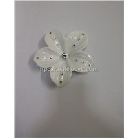 Ceramic Artificial Flower with Diamond