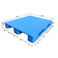 Cheap Plastic Pallet for Packing 2-way Single face