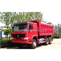 China 336hp 6x4 Heavy Dump Truck
