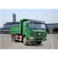 China Euro3 15M3  Diesel Engine Dump Truck /269Hp 6x4 Rear Double Axles Tipper Truck
