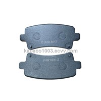 China high quality German auto brake pad cross reference D1430-8547