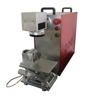 Compact Fiber Laser Bearing Marking Machine