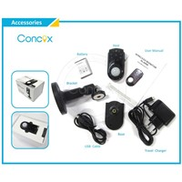 Concox hidden Camera Anti-theft Alarm built-in PIR sensor with CE GM01