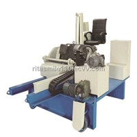 Concrete slab cutting machine