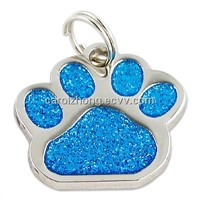 Custom metal pet tag