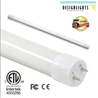 DLC 18W 2200lm LED T8 tube with 5 years totally free warranty