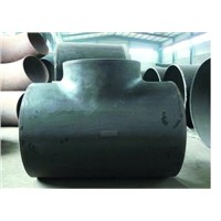 DN150 equal tee pipe fitting |