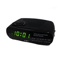 Digital alarm LED clock radio VST 906-2