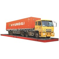 Digital truck scales, electronic weighbridge