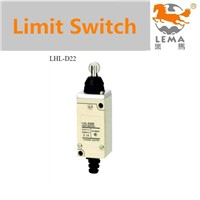 Double circuit type of limit switch