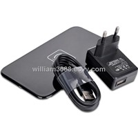 EU Plug QI Standard Wireless Charging Charger Pad for Samsung Galaxy S4 S3