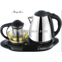Electric kettle tray set