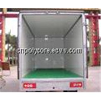 FRP Composite Panel as Wall, Ceiling, Floor, Partition of Truck