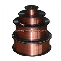 Copper Coated CO2 gas shielded welding wire