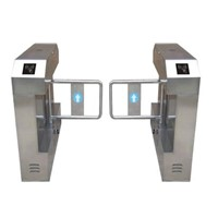 Fingerprint access control swing turnstile gate/RFID automatic swing turnstile