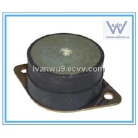 Flanged Bobbin Mountings Rubber Vibration Mounts