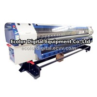 Flex Printing Machine, Solvent Printer fast speed outdoor, 1440dpi, with Konica head