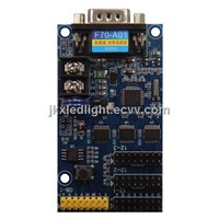 Free Shiping F70-A01 LED Display Control Card & Serial Control Card Stock Sell