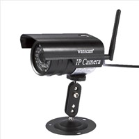 Free p2p cmos weather-proof wireless&wired camera security