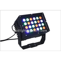 Full Color LED Wall Washer Light, 24*3 in 1 Outdoor LED Flood Light