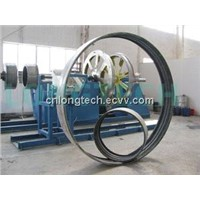 GRP coupling socket machine