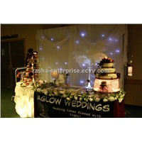 HOT Customsized 3M*4M SMD High Brightness LEDs LED Wedding Decoraion Curtain,LED Star Curtain