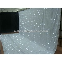 HOT SALE RGB LED Wedding Decoration Curain,LED Starcloh,DJ Background