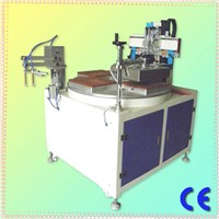 HS-350PME/4  4 stations conveyor ruler screen printing machine