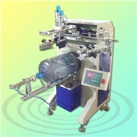 HS-350R automatic bottle screen printing machine for 1 color