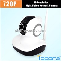 H.264 720P HD IP Camera Plug&Play P2P Network Pan Tilt Wireless Wifi Micro SD Card Indoor Security