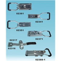 Trailer door locking handle