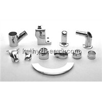 Hardware Silver Bathroom Accessories Chrome Treatment