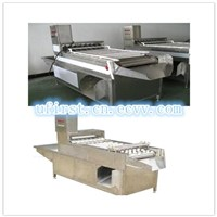 Hen egg shelling machine
