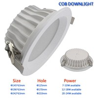 High Brightness COB LED Downlight LED ceililng lamp