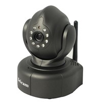 High Definition Pan Tilt Night Vision Indoor IP Wireless Security Dome Camera