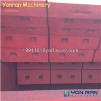 High Manganese Steel Impact Hammer for impact crusher